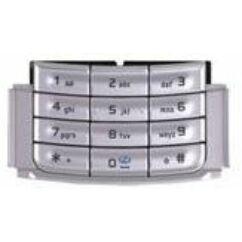 Nokia N95 alsó, Gombsor (billentyűzet), ezüst