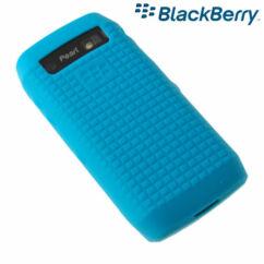 Szilikon tok, Blackberry HDW-29843 (9100), S-Case - kék