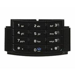 Nokia N95 8GB alsó, Gombsor (billentyűzet), fekete