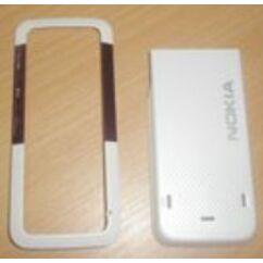 Nokia 5310 elő+köz+akkuf, Előlap