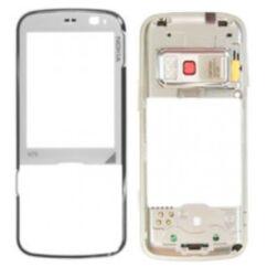 Nokia N79 elő+közép, Előlap, fehér