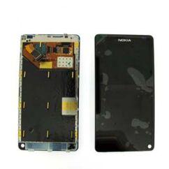 Nokia N9-00, LCD kijelző érintőplexivel, fekete