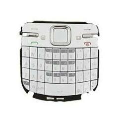 Nokia C3-00 QWERTY, Gombsor (billentyűzet), fehér