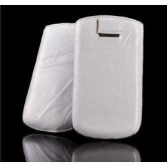 LG BL20/KP500, Álló bőr tok, fehér - Special