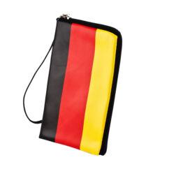 Pénztárcás tok, FLAG Germany zipzáros