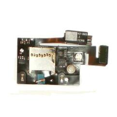 Blackberry 9800, Memóriakártya olvasó, (átvezetőn)