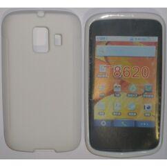 Szilikon tok, Huawei Y200, S-Case - fehér