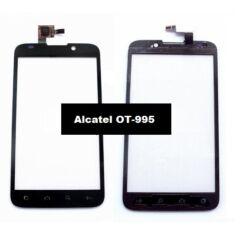 Alcatel OT-995, Érintőplexi, fekete