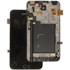 Samsung i9220/N7000 Galaxy Note, LCD kijelző érintőplexivel, fekete