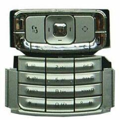 Nokia N95 alsó+felső, Gombsor (billentyűzet), ezüst