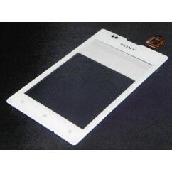 Sony Xperia E C1505, Érintőplexi, fehér