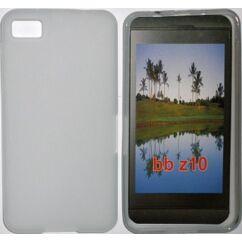Szilikon tok, Blackberry Z10, S-Case - átlátszó