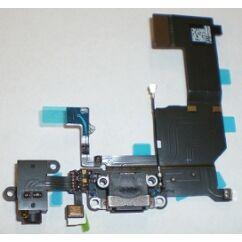 Rendszercsatlakozó, Apple iPhone 5C, fekete (átvezetőn)