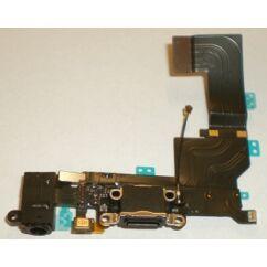 Apple iPhone 5S, Töltőcsatlakozó, (átvezetőn), fekete