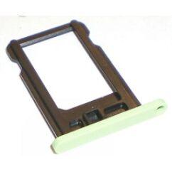 Apple iPhone 5C, SIM tartó, zöld