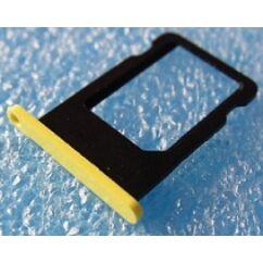 Apple iPhone 5C, SIM tartó, sárga