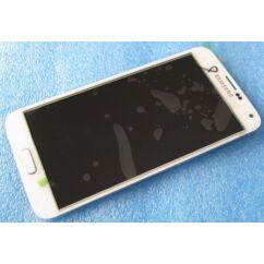 LCD kijelző, Samsung G900 Galaxy S5 érintőplexivel, fehér