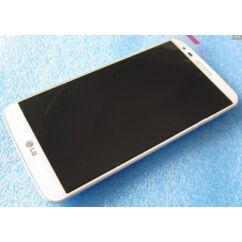 LCD kijelző, LG D802 Optimus G2 érintőplexivel, fehér