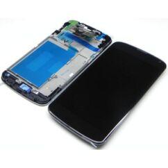 LCD kijelző, LG E960 Nexus 4 érintőplexivel, fekete