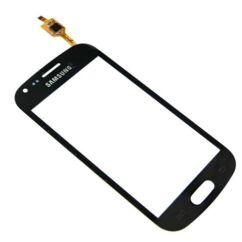 Érintőplexi, Samsung S7560 Galaxy Trend, S7562 Galaxy S Duos, fekete