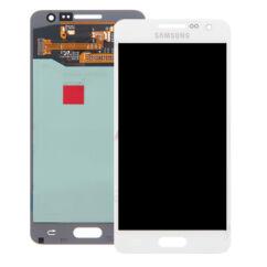 Samsung A300 Galaxy A3, LCD kijelző érintőplexivel, fehér