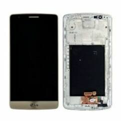 LCD kijelző, LG D855 G3 érintőplexivel, arany