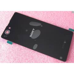 Sony Xperia Z1 Mini D5502/D5503, Akkufedél, fekete