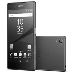 Sony Xperia Z5 E6603/E6653, LCD kijelző érintőplexivel és előlappal, fekete