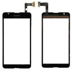 Sony Xperia E4 E2105/E4 Dual E2115, Érintőplexi, fekete