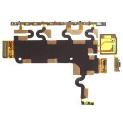 Sony Xperia Z1 C6903, Átvezető szalagkábel (Flex), (oldalgomb, mikrofon)