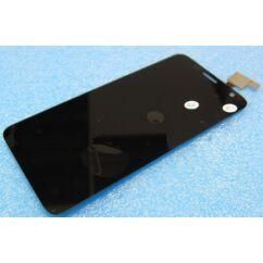 Alcatel OT-6012 Idol Mini, LCD kijelző érintőplexivel, fekete