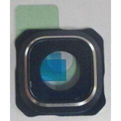Samsung G928 Galaxy S6 Edge, Plexi, (kamera gyűrű), fekete