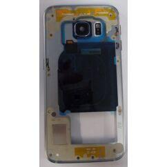 Samsung G925 Galaxy S6 Edge, Középső keret, fekete