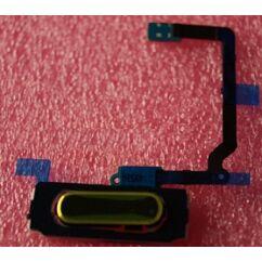 Samsung G900 Galaxy S5, Gomb, (HOME gomb átvezető), arany