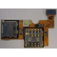 LG Optimus F6 D505, SIM olvasó, (memóriakártya olvasó)