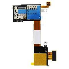 Sony Xperia M2 D2303/D2305/D2306, SIM olvasó, (memóriakártya olvasó)