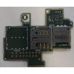 Sony Xperia M C1904/C1905, SIM olvasó, (memóriakártya olvasó)