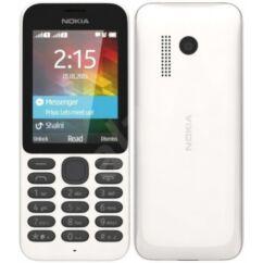 Mobiltelefon, Nokia 215 DualSIM, fehér