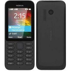 Mobiltelefon, Nokia 215 DualSIM, fekete
