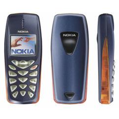Mobiltelefon, Nokia 3510i, kék