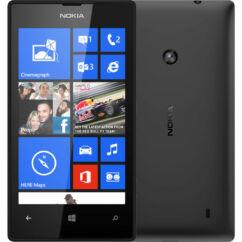Mobiltelefon, Nokia Lumia 520 8GB, fekete