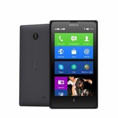 Mobiltelefon, Nokia X A110 DualSIM, fekete