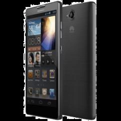 Mobiltelefon, Huawei G740 4G LTE 8GB Kártyafüggetlen, 1+1 év, szürke-kék