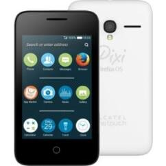 Mobiltelefon, Alcatel OT-4034D Pixi4 DualSIM, fehér