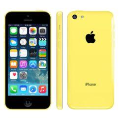 Mobiltelefon, Apple iPhone 5C 32GB Felújított, Kártyafüggetlen, sárga