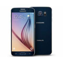 Mobiltelefon, Samsung G920F Galaxy S6 32GB kártyafüggetlen, 1+1 év garancia, fekete