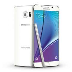 Mobiltelefon, Samsung N920 Galaxy Note 5 32GB Kártyafüggetlen, 1 év garancia, fehér