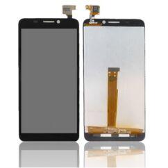 Alcatel OT-6034 Idol S, LCD kijelző érintőplexivel, fekete