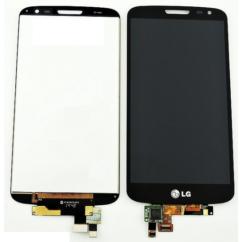 LCD kijelző, LG D620 G2 Mini érintőplexivel, fekete