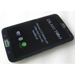 Samsung T211 Galaxy Tab 3 7.0, LCD kijelző érintőplexivel és előlappal, fekete